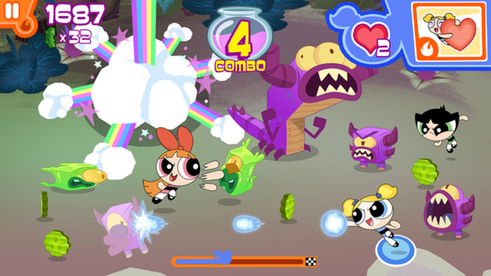 みんなでフリップ! パワーパフガールズはゲームも砂糖とスパイスでできている?