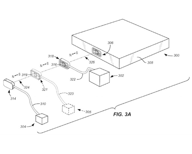 周辺機器を磁石でくっつけるアップル特許が、モバイルを便利にする?
