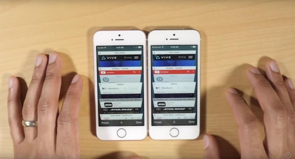 iPhone SE vs iPhone 5s、メモリ倍増はどう影響する?