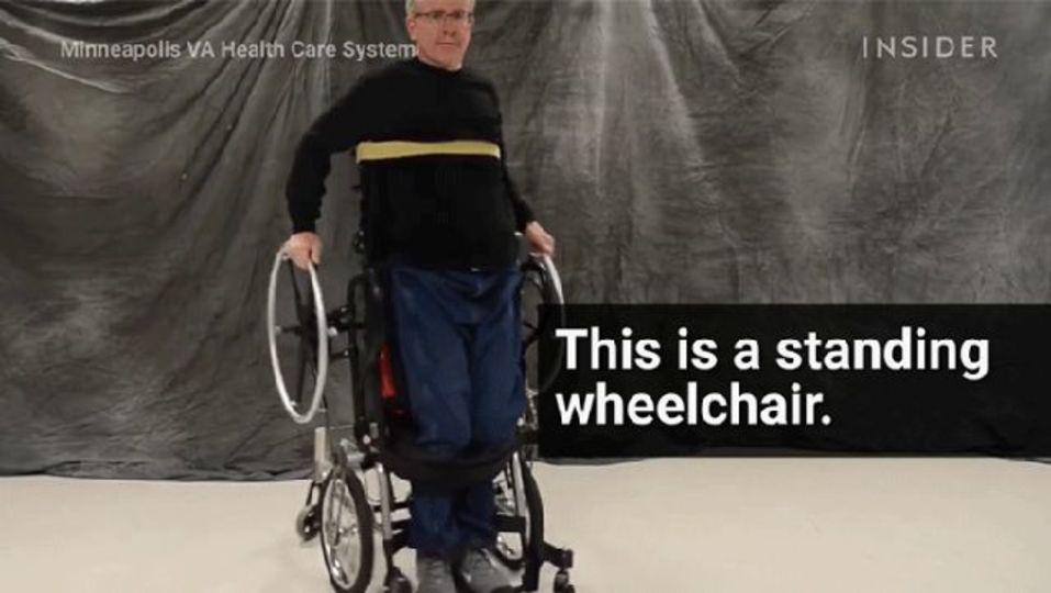 セグウェイ開発者が作る、「立ち漕ぎ」できる車いす