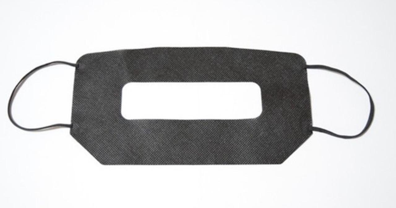 VRヘッドセットの専用マスク。衛生的だから100人つけても大丈夫!