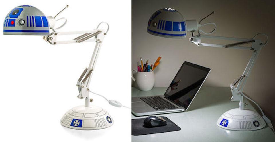 可愛すぎっ! R2-D2の頭でできたデスクランプ