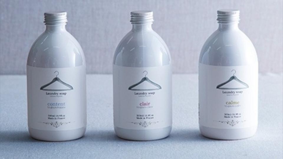 おフランスの洗濯洗剤のデザインが清涼飲料水すぎるざんす