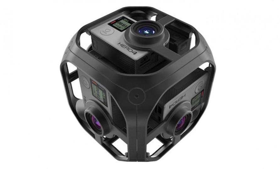 GoProのサイコロや! 360度撮影できるVRカメラ「Omni」お披露目