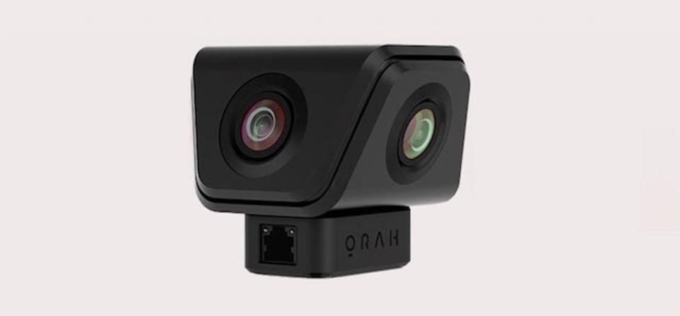 不思議なかたちの4K VR&3Dオーディオな小型カメラ