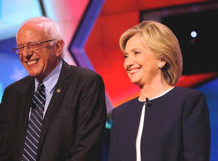 地下鉄をめぐって庶民アピール合戦をする大統領候補たち。どちらも微妙に失敗...