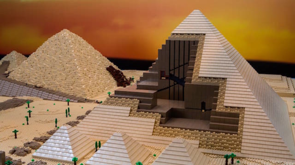 ピラミッド、コロッセオ…レゴ職人の本気が素晴らしい