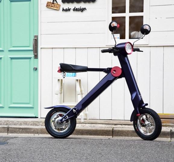 街中スイーに最適な折りたたみ電動バイク、日本発売へ