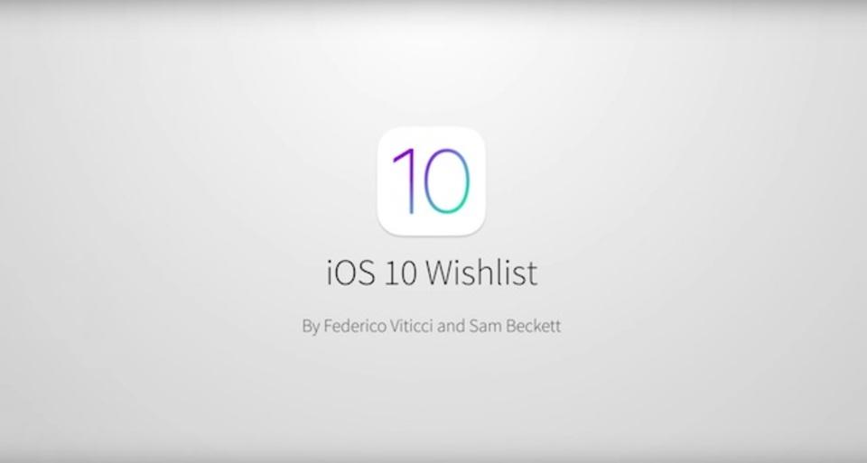 思わず欲しくなる? iOS 10の機能を予想したコンセプト動画