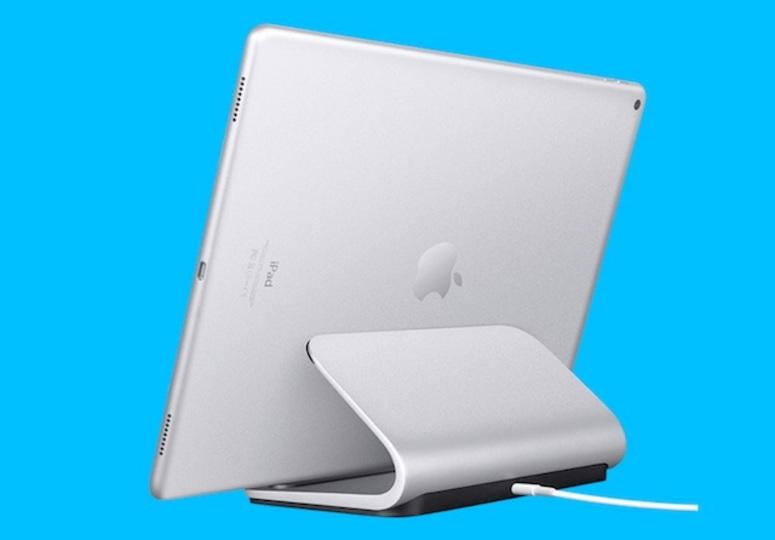 ロジクールがiPad Pro用スタンド「BASE」を発表。置くだけでかんたんに充電できる