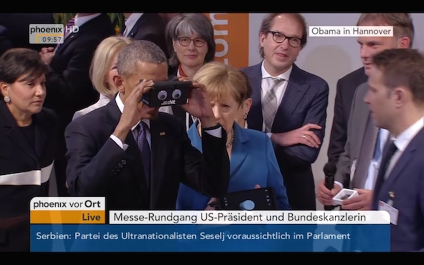 VRを体験したオバマ大統領とメルケル首相は、きっとこんな会話をしてたはず