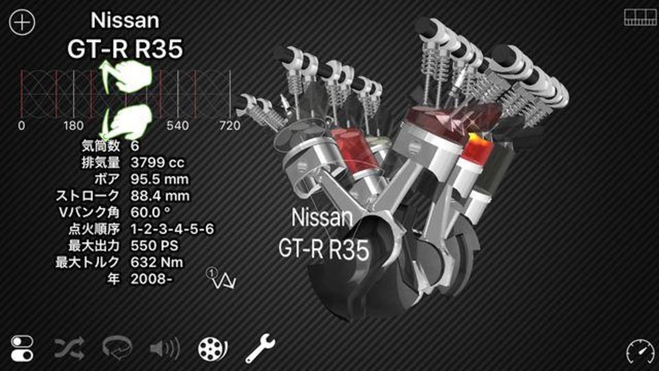 愛車の心臓、どのように動いているのか観察してみませんか