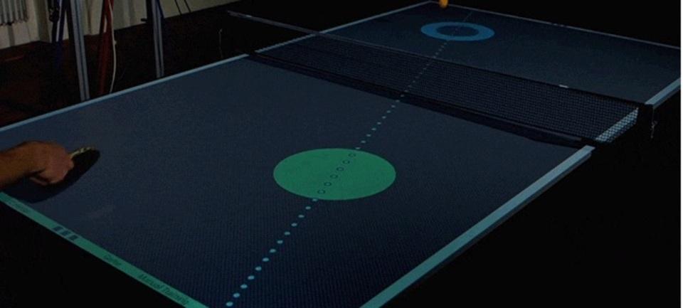 このめっちゃハイテクな卓球台があればきっと...!!