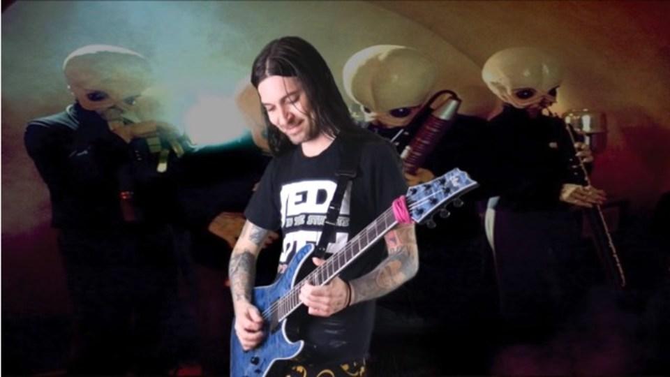 映画「スター・ウォーズ」のカンティーナ・バンドをヘヴィメタルに演奏