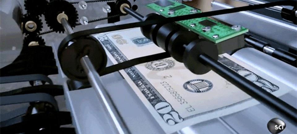 ATMマシンがいつでも正確に現金を数えられる理由