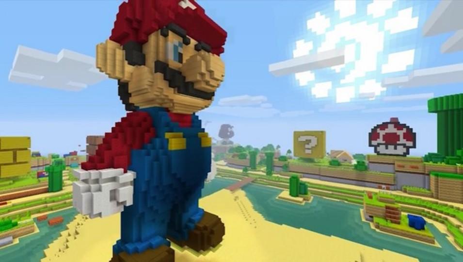 夢の共演! Minecraftにスーパーマリオの拡張パックが登場