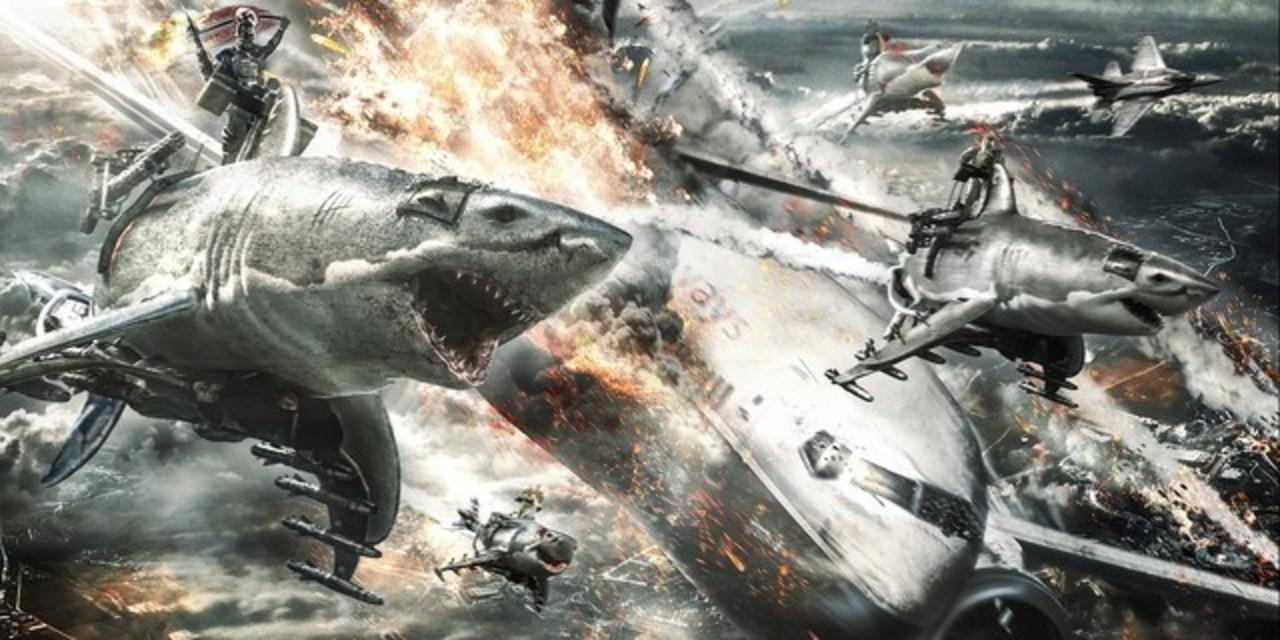ナチスとゾンビとジェット・サメが襲いかかる映画「スカイ・シャークス」予告編
