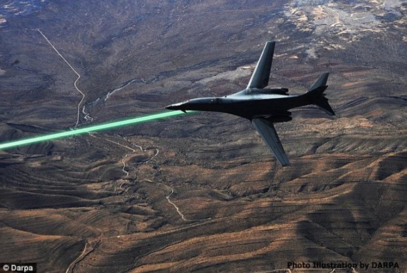 2020年代の戦場ではジェット戦闘機やドローンがレーザー発射してます