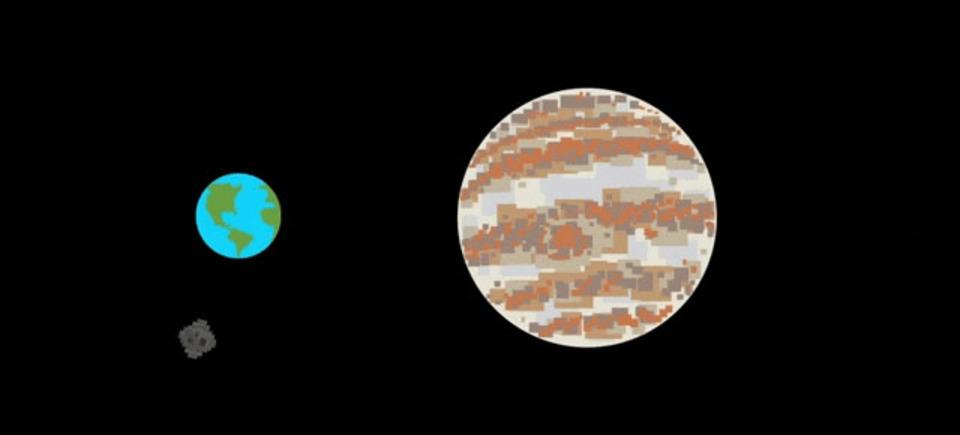 ありがとう木星さん…。あなたがいなければ今の地球はなかった