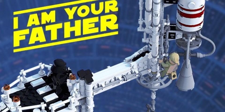 「スター・ウォーズ」の親子対決シーンがレゴ化に向けて賛同者を募集中!