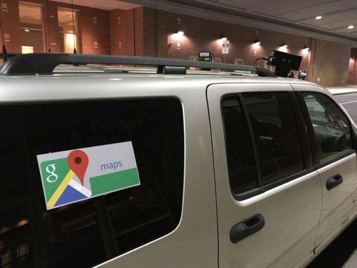 ペンシルベニアのパトカー、Googleカーに覆面していた
