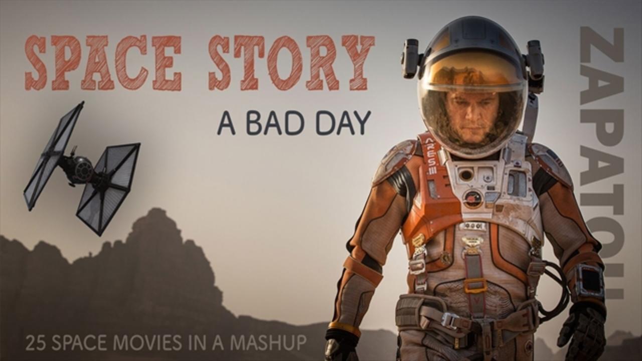 25本の名作宇宙映画をつなげた短編。結論:宇宙は恐ろしい。