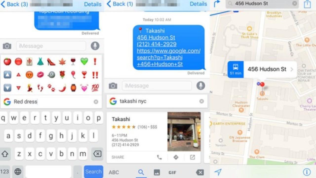 Googleがメッセージ画面を離れず、検索してリンクが送れるiOSキーボード「Gboard」をリリース