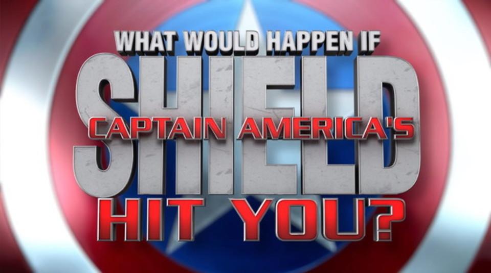 【科学的に検証】もしキャプテン・アメリカの盾が人間に直撃したら?