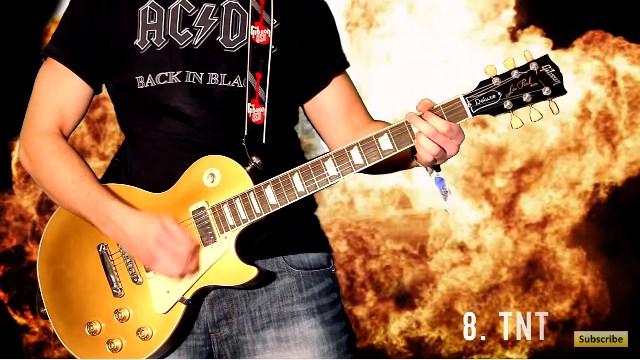 AC/DC 史上最高 リフ