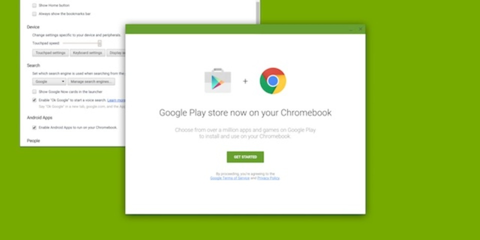 Chrome OSでAndroidアプリが動くようになる? セッションの案内に一時的に記載