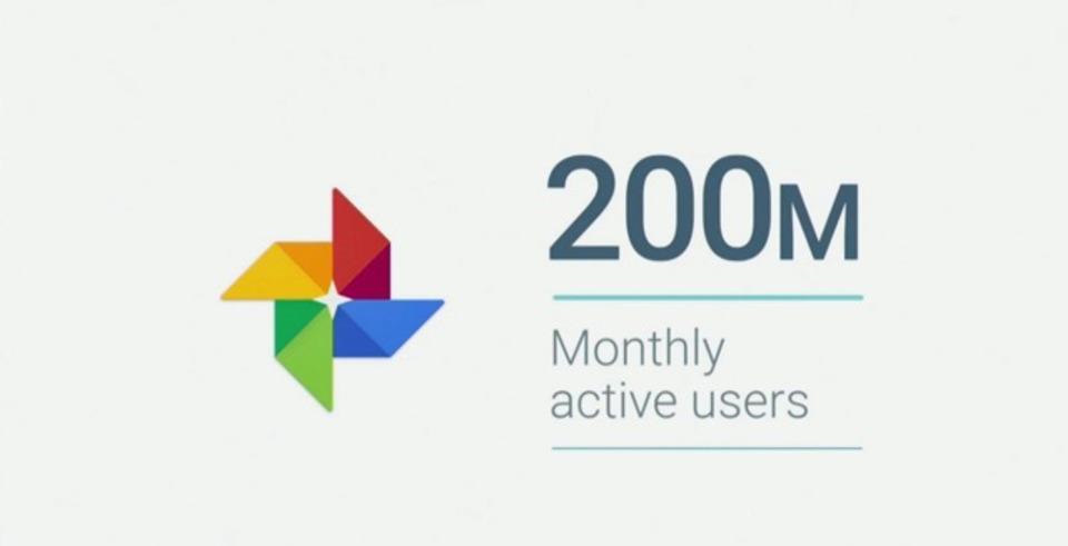 便利だもんね。「Googleフォト」の月間アクティブユーザーが2億人突破だって