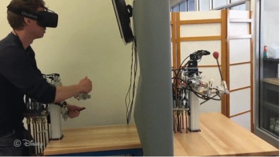 ディズニーリサーチによる新しい遠隔操作型ロボットにできること
