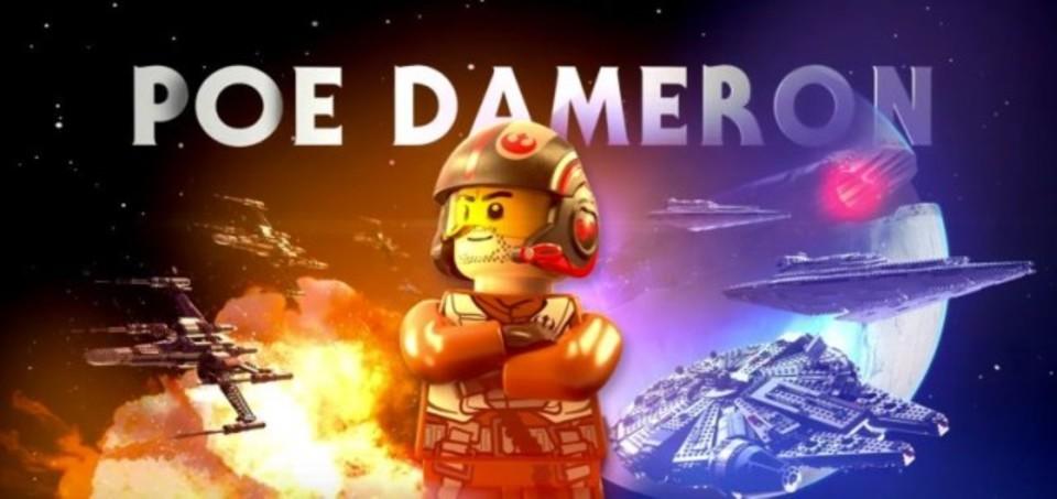 「LEGO スター・ウォーズ/フォースの覚醒」のポー・ダメロンに元気をもらおう