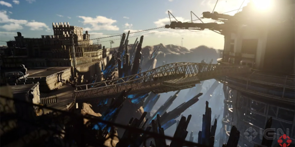「ファイナルファンタジーXV」のハイクオリティな背景映像が公開