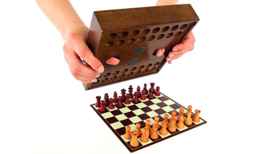 箱から出したらそのままプレイ、優れたチェスデザイン