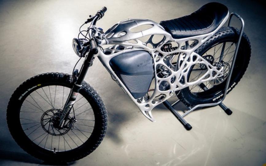 Airbus社が3Dプリンターで製造した電動バイクがかっこいい