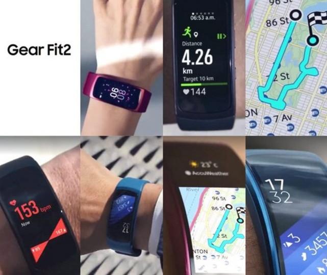 Samsungの新しいスマートウォッチ、「Gear Fit 2」の画像がリークか