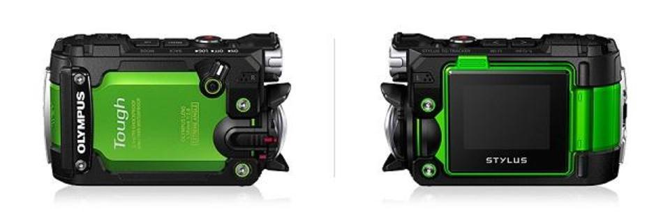 5つ揃ったタフな奴。オリンパス、防水防塵、耐衝撃アクションカメラを発表
