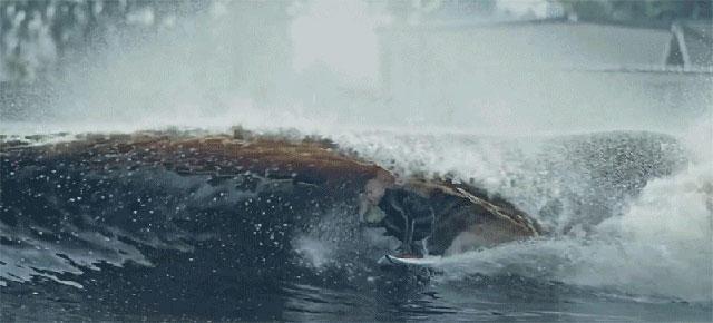 プロサーファー、ケリー・スレーターが作りだす人工の波
