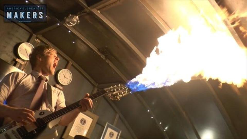 マーシャルは燃料ッ! 「マッドマックス」の火炎放射ギターの作り方