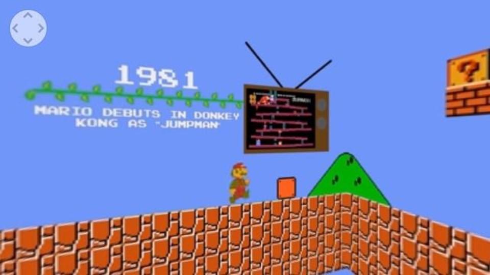 「スーパーマリオ」ゲーム全作品を360度動画で見てみよう