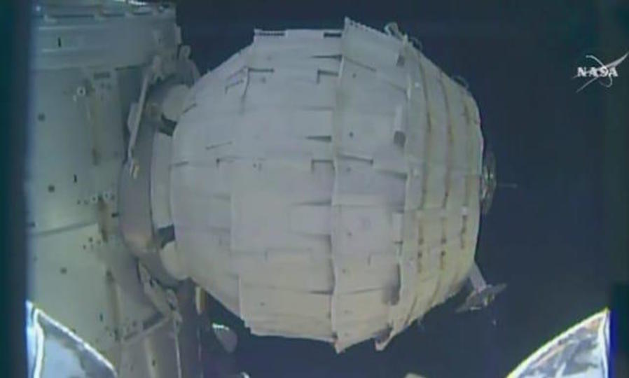 風船のように膨らむ宇宙の家、ISSでの試験に成功