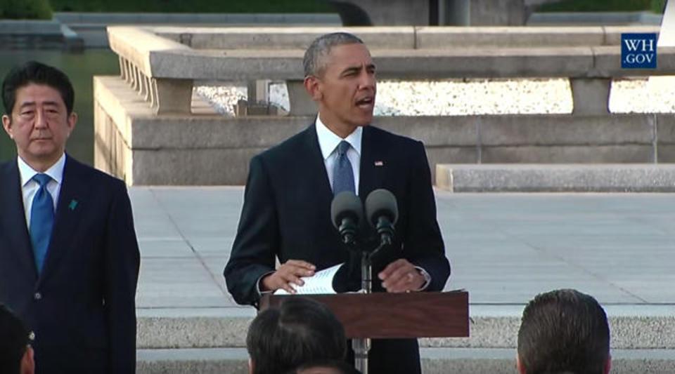 オバマ大統領の広島演説全訳(動画)
