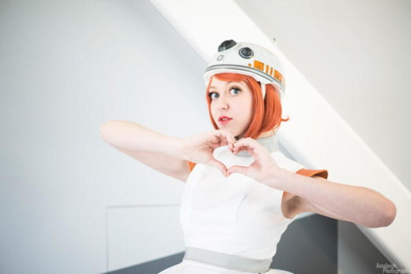 ローラーブレードを活用した「フォースの覚醒」BB-8の擬人化