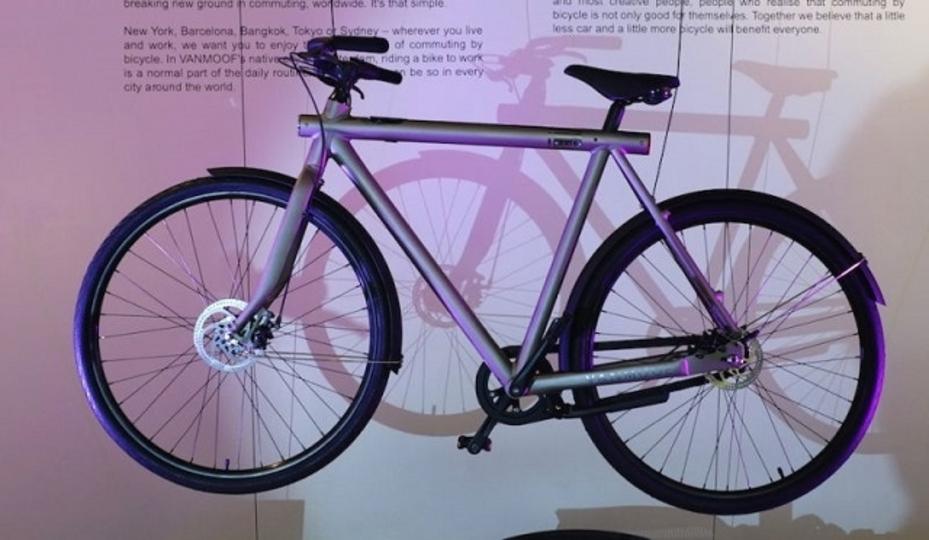 VanMoofがGPS内蔵のスマート自転車「SmartBike」を開発