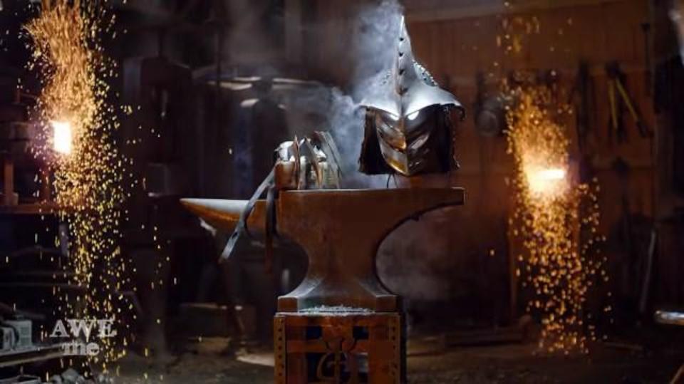 鍛冶屋が「ミュータント・タートルズ」サワキちゃんのアーマーを制作