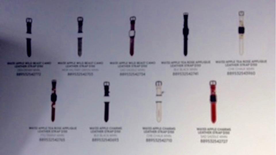 ついにあのブランドが! Apple WatchのCOACH製バンドが9種判明か