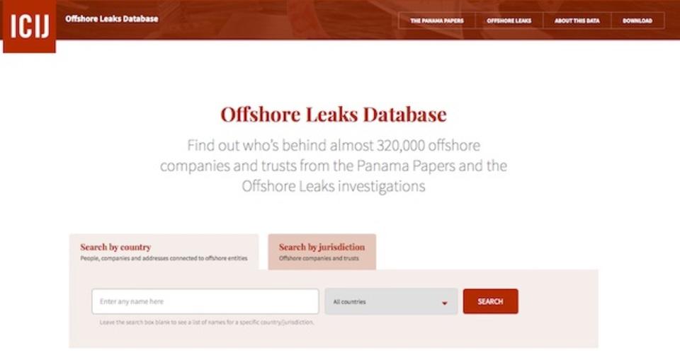 パナマ文書を検索できるデータベースが公開された。「史上最大のリーク」が丸見え