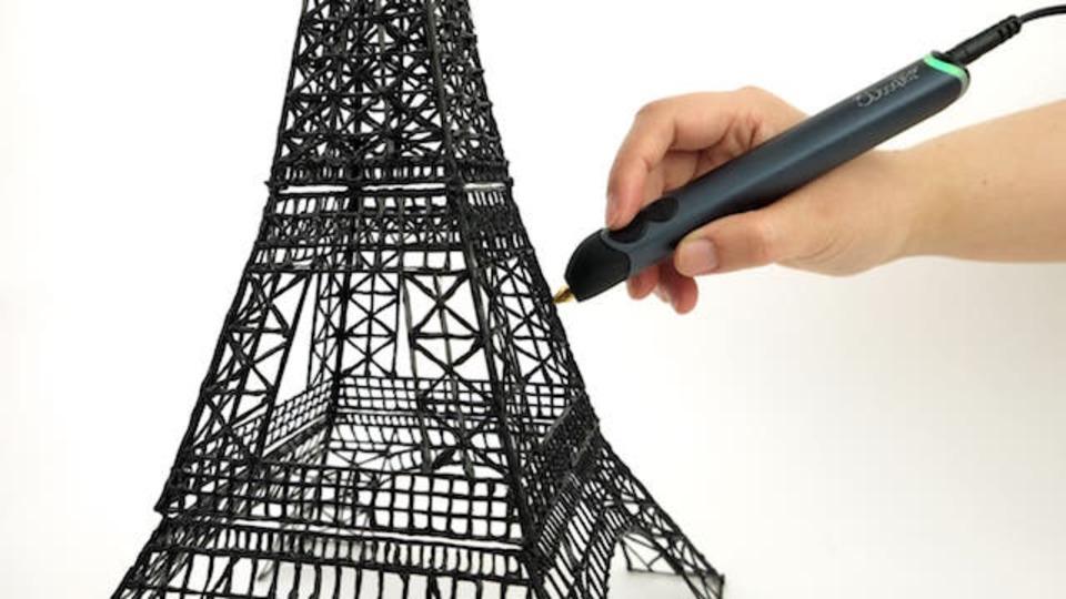 エッフェル塔まで作れる3Dプリントペンに新型「3Doodler Create」、意外と安い