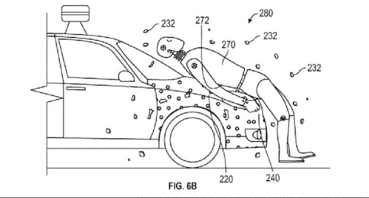 斬新! Googleの自動運転車用の新特許はハエ捕り紙風
